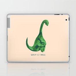 Lonely loch ness monster (loch-li-ness) Laptop & iPad Skin