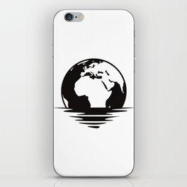 Earth Floating iPhone Skin