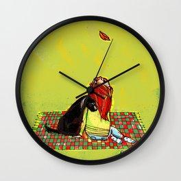 Tribute to Moonrise Kingdom Wall Clock