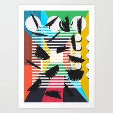 State of the Art Art Print