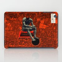 boxer iPad Cases featuring Boxer by Frank Moth