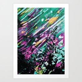 Galaxy Painting Art Print
