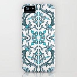 European tiles iPhone Case