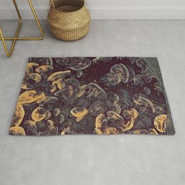 GALATHI School of Jellyfish Vintage - Fish Rug
