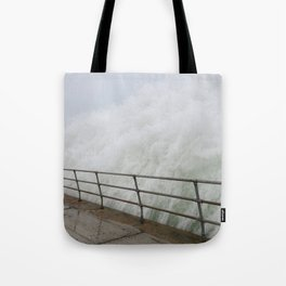 The Violence is Here Tote Bag