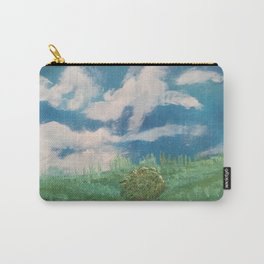 Cloudy day in the prairies Carry-All Pouch