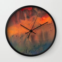 Vent de sable - Velvetink Collection Wall Clock