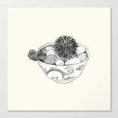Chestnut Burr & Pottery Canvas Print