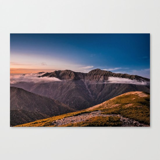 Southern Alps I Canvas Print