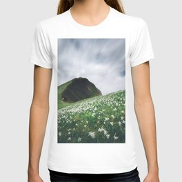 Thousands of narcissus on Golica, Slovenia T-shirt