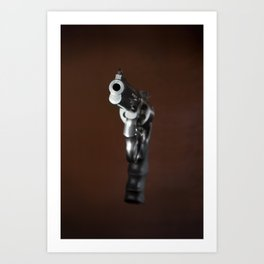 Smith & Wesson 628 Art Print