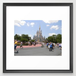 Disney Land. Framed Art Print