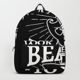 Look me in the beard Backpack