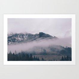 Swiss Fog IV Art Print
