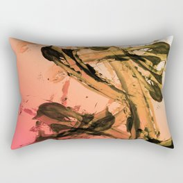 Calm and Fiery Abstraction Rectangular Pillow