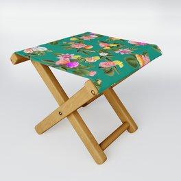 Frida Floral Folding Stool