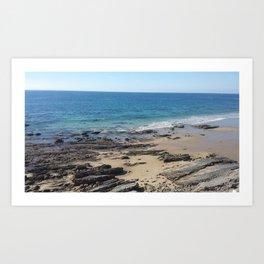 Newport Tides Art Print