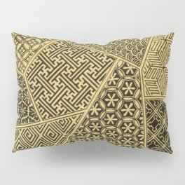 Japanese Patterns Pillow Sham