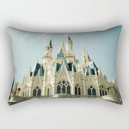 Cinderella's Castle Rectangular Pillow