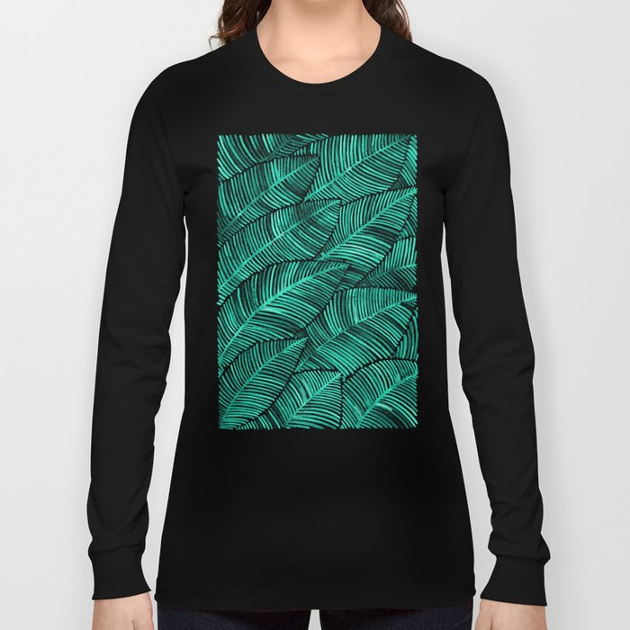 Tropical Turquoise Long Sleeve T-shirt