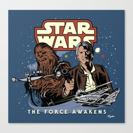 Chewie, We're Home Canvas Print