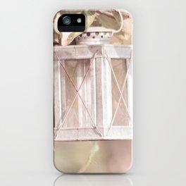 Pastel Lantern iPhone Case