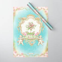 French Baroque Patisserie Tea Wrapping Paper