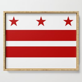 Flag of Washington D.C. Serving Tray