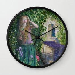 Arthur Hughes - Fair Rosamund Wall Clock