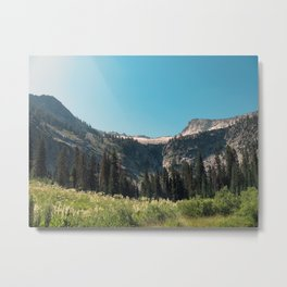 Backpacking the Trinity Alps Metal Print