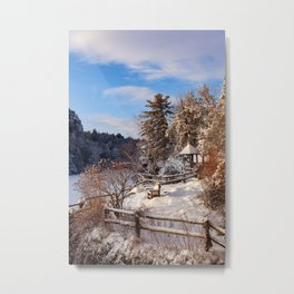 Mountain Morning Metal Print