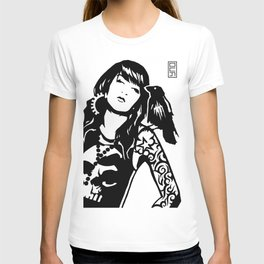 Dahlia + The Crow T-shirt