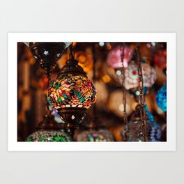 Turkish Lamp Art Print