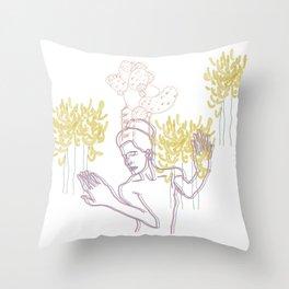 Africana Throw Pillow
