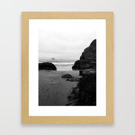 In Collision by Jessi Fikan Framed Art Print