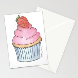 C is for Cupcake Stationery Cards