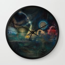"""Twenty Twelve Nataraja"" Wall Clock"