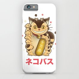 Lucky Catbus iPhone Case