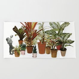 It's a Jungle Out There Beach Towel