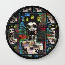 Grande gueule Wall Clock