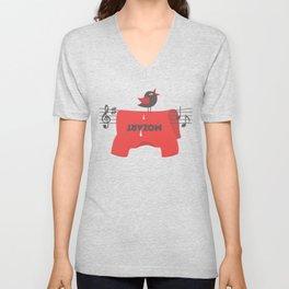 composer t-shirt Unisex V-Neck