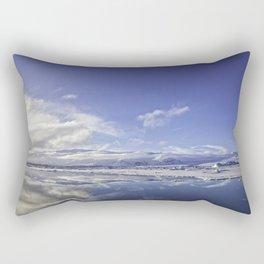Glacial Lagoon 06 Rectangular Pillow