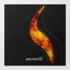 elements | fire Canvas Print
