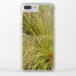 Fern Gully (color) Clear iPhone Case