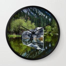 Mirror Lake Wall Clock