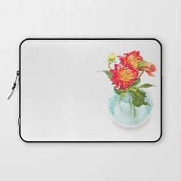 Dahlias in a vase... (9) Laptop Sleeve