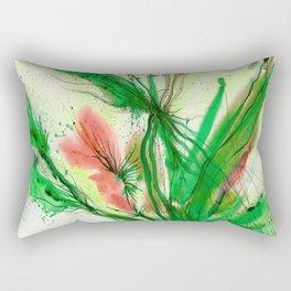 Organic Ecstasy No. 48l by Kathy Morton Stanion Rectangular Pillow