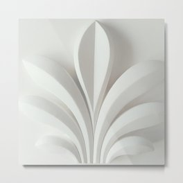 White sculpture Metal Print