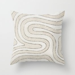 Tired Thoughts Throw Pillow