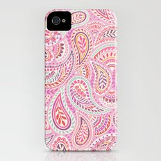 Pink Paisley iPhone (4, 4s) Slim Case